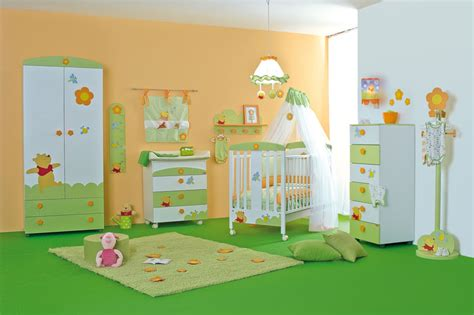 cool baby nursery rooms inspired by winnie the pooh home - Coole Kinderzimmer