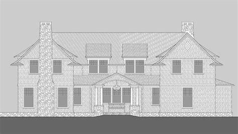 shingle style architects david neff architect moose pond shingle style home plans by david neff