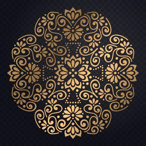 versace pattern psd invitaci 243 n de boda de lujo de vector con mandala