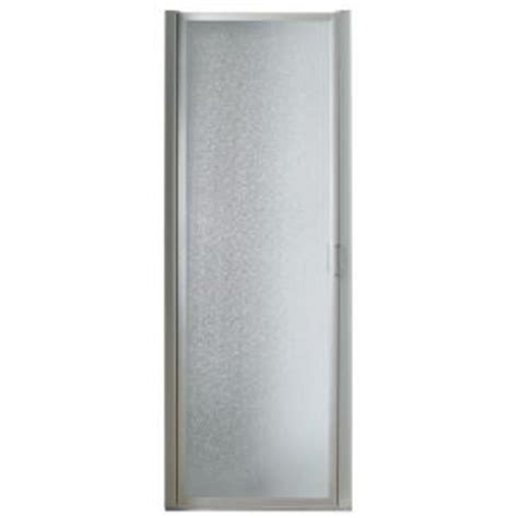 bathroom doors at home depot franklin brass 34 in x 63 3 4 in framed pivot shower
