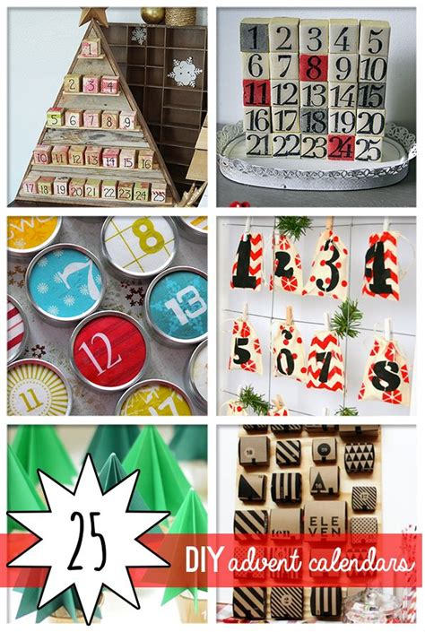 advent calendars to make 25 awesome diy advent calendars to make savedbyloves