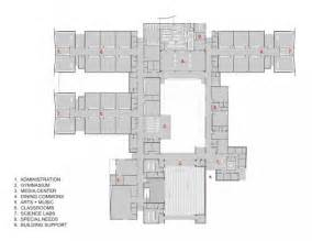 Middle School Floor Plans Silverland Middle School Tate Snyder Kimsey Archdaily