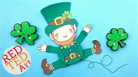 Leprechaun Paper Craft - leprechaun paper craft image collections craft