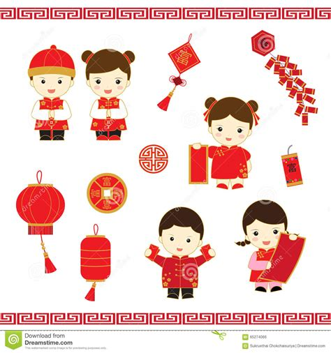 new year story characters new year stock illustration image 65274066