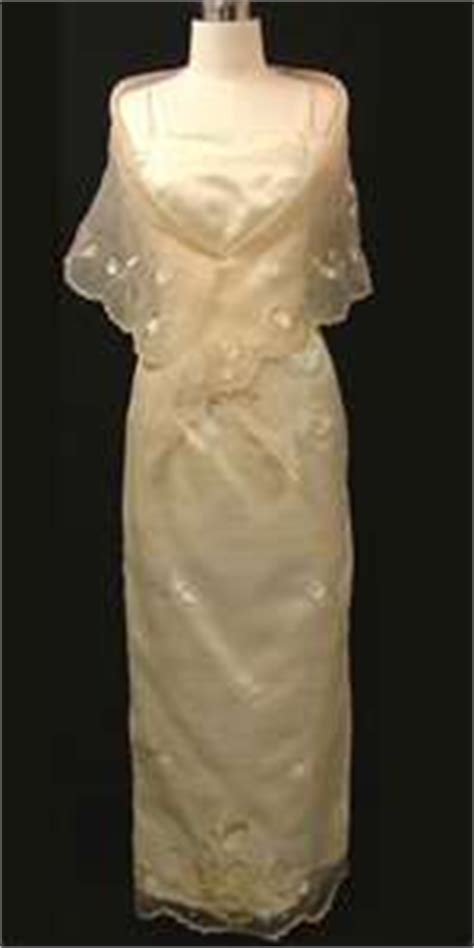 Filipiniana National Dress Of The Philippines