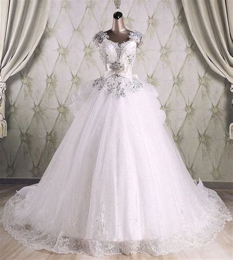 luxury wedding designers real sle high quality gown sequins luxury wedding