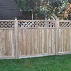 Backyard Wood Fence 75 Fence Designs And Ideas Backyard Amp Front Yard