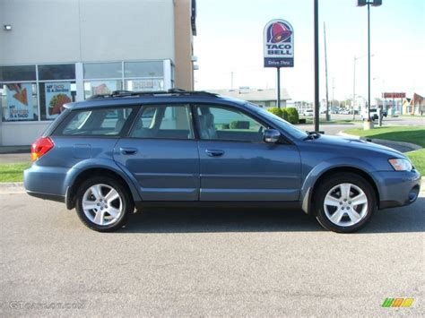 2007 Subaru Outback by 2007 Newport Blue Pearl Subaru Outback 2 5 Xt Limited