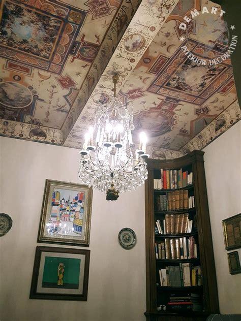 decorazione soffitto decorazione soffitto e parete per palazzo nannini siena