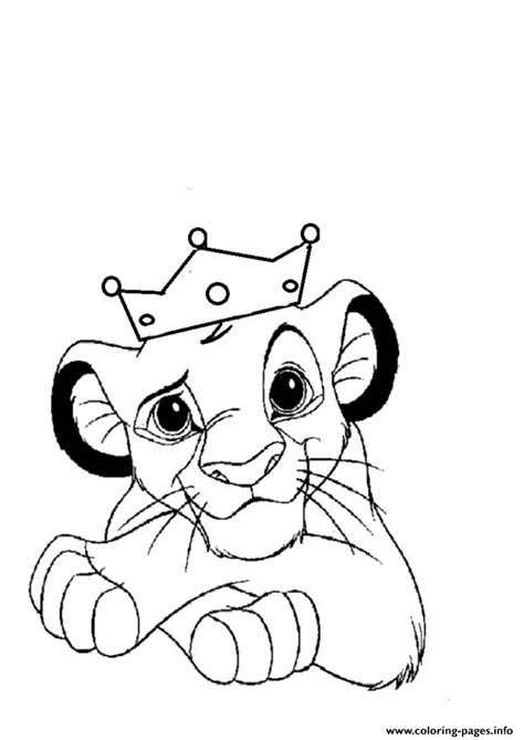 little lion coloring pages little lion king free f339 coloring pages printable