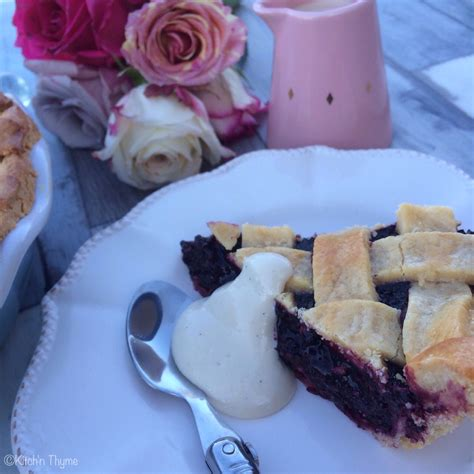 Viva White Butter Mulberry 200g mulberry pie kitch n thyme