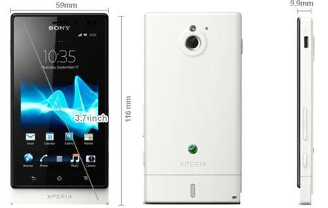 Hp Sony Xperia Lt25i hp android sony xperia sola spesifikasi dan harga
