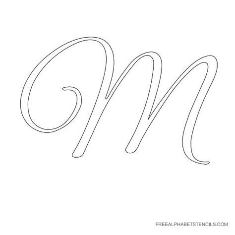 Name Letter M m letter letter alphabet stencil m