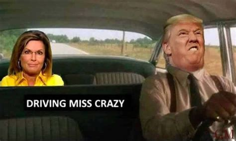 Driving Miss Daisy Meme - funniest sarah palin donald trump memes