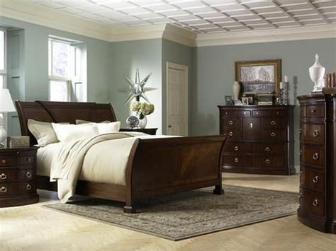 paint colors for bedroom with dark furniture dreamy blue grey walls with dark furniture bedroom