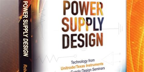 Instrument Giveaways - texas instruments texas instruments fundamentals of power supply design book