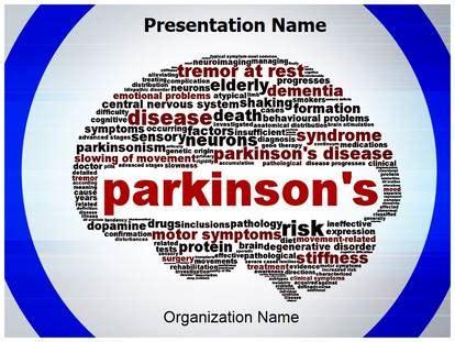 Parkinson Powerpoint Template Background Subscriptiontemplates Com Parkinson S Disease Powerpoint Template