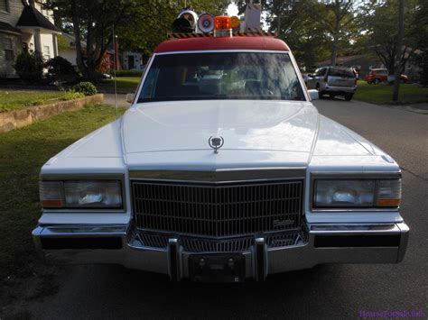 Cadillac Car For Sale by 1992 Cadillac Brougham Ecto 1 Ghostbusters Hearse Promo