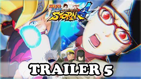 boruto yt naruto storm 4 trailer 5 boruto x sarada x the last