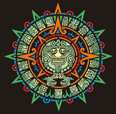 aztec sun god tattoo designs aztec sun calender aztec stencil designs from stencil kingdom