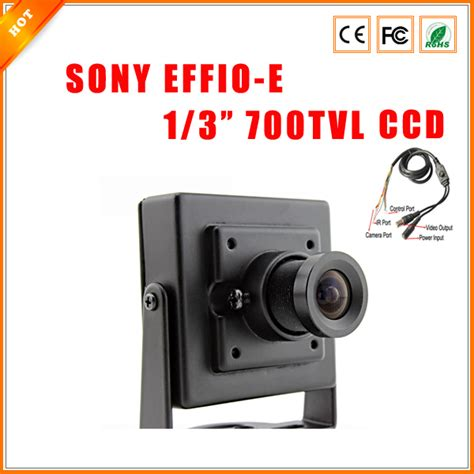 Cctv Sony Effio 700tvl aliexpress buy high quality 700tvl mini 1 3 quot sony effio ccd 811 4140 security