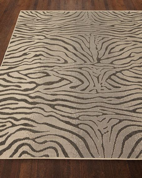 Zebra Indoor Outdoor Rug Zebra Terrace Indoor Outdoor Rug 3 X 5