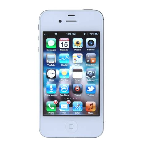 Apple Iphone 4s 16 Gb apple iphone 4s a1387 16gb smartphone for at t black or white ebay