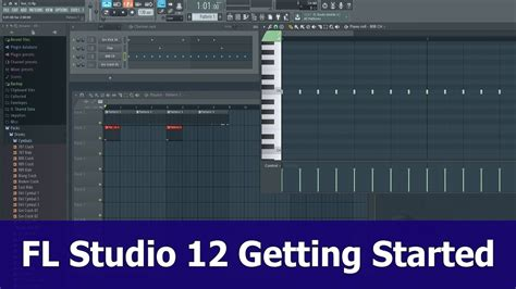 fl studio jungle tutorial fl studio 12 tutorial getting started youtube
