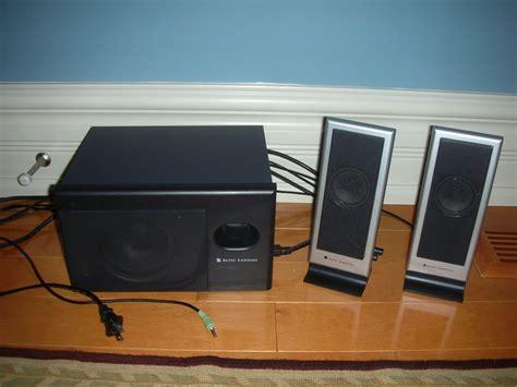 Speaker Laptop Altec Lansing altec lansing vs2121 computer speaker system 2 speakers