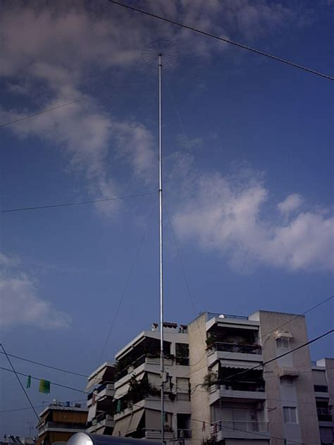 capacitive hat antenna antennas setups sv1grb radio website