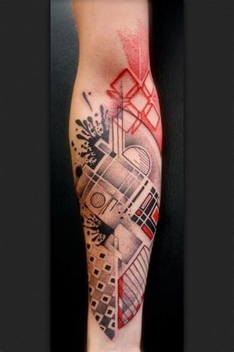 abstract tattoo abstract design on arm by aurisch
