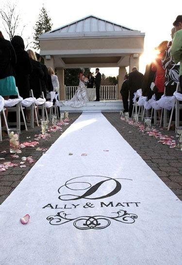 Wedding Etiquette Aisle Runner by Wedding Ceremony Decor Custom Aisle Runners