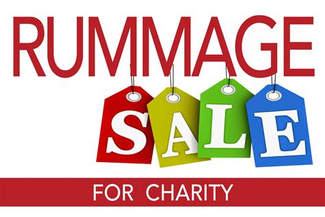 Yard Sale Search Nj Fall Rummage Sale For Charity At Community Congregational