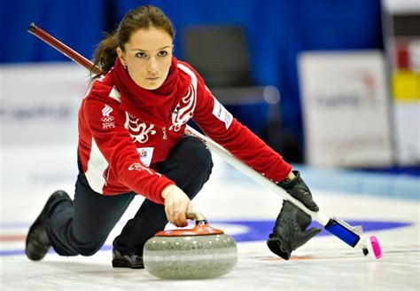 Pictures Of Women Of The Winter Olympics From The 1940s   anna sidorova russia curling photos sexiest athletes