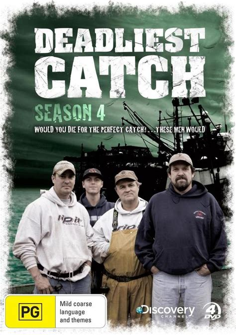 deadliest catch discovery deadliest catch the complete 4th season discovery