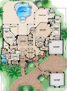 Florida House Plans With Pool House Plan 60484 At Familyhomeplans Com