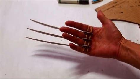 wolverine claws template dali lomo wolverine prop claws cardboard diy