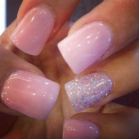 Light Pink Acrylic Nails by 17 Best Ideas About Light Pink Acrylic Nails On