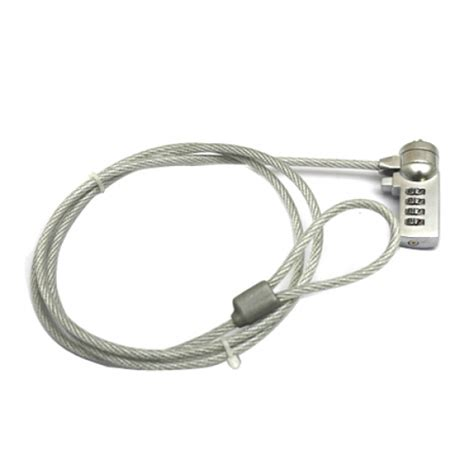 New Security Cable Chain Leash Lock Laptop For Notebook - 1 2m number security lock cable chain for laptop notebook