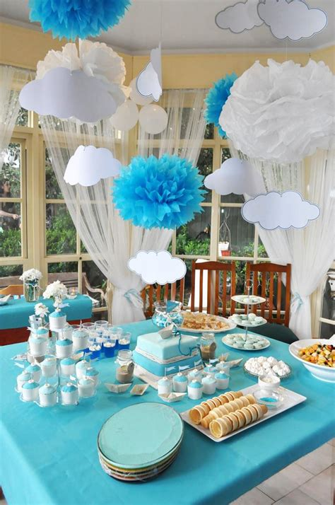 themes baptism party kara s party ideas paper boat christening party planning