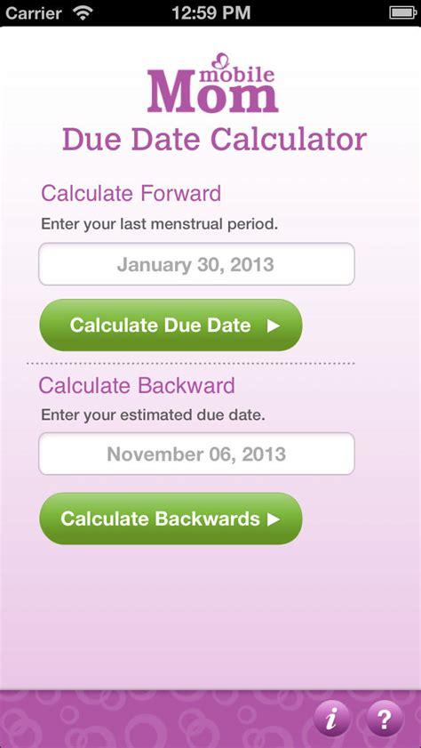 due date calculator pregnancy due date calculator my baby wheel countdown birth calendar ios