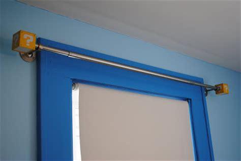 mario bros curtains latent chestnut super mario curtain rods