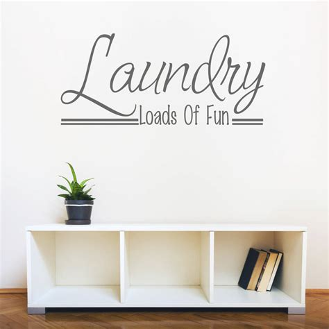laundry room sticker wall laundry room wall quote by mirrorin