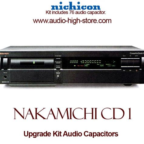 nakamichi cassette deck 1 nakamichi cassette deck 1 upgrade kit audio capacitors