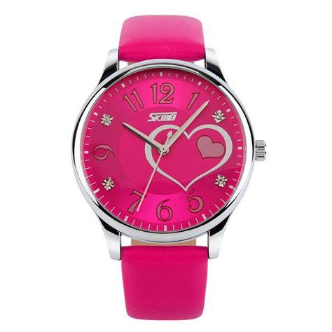 Jam Tangan Wanita Skmei 1133 skmei jam tangan analog wanita 9085cl pink