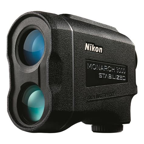 nikon monarch 3000 stabilized laser rangefinder 705306 rangefinders at sportsman s guide