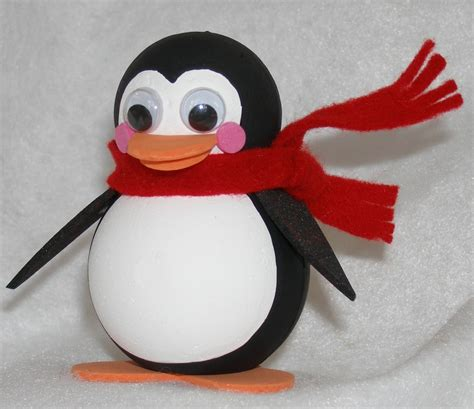 penguin crafts national craft month roly poly penguin smoothfoam