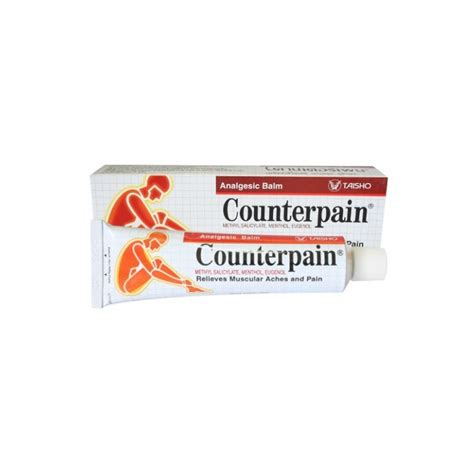 Counterpain 120 Gram counterpain ointment use ingredient and effect
