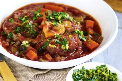 no prep cooker easy few ingredient meals without the browning sauteing or pre baking books cooker osso bucco with gremolata