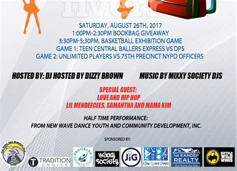Back To School Giveaway 2017 Nyc - nikki lucas s 6th annual back to school celebration aug 26 in eny nyc newswire